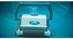 Cobia, Limpiafondos Automático con clorador salino incorporado