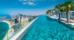 La piscina más alta del mundo