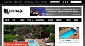 Nuevo portal especializado del grupo La Web de las Piscinas: Portal Spas
