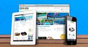 Poolaria estrena nueva tienda online responsive.