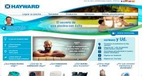Reestructuración de la página web de Hayward Pool Europe