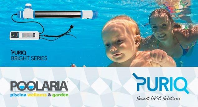 Poolaria presenta Puriq: desinfección UV inteligente para piscinas