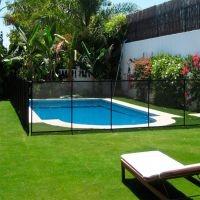 Valla flexible para piscinas BEETHOVEN modulo de 1m (2 postes)